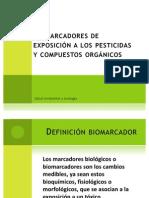 Biomarcadores de exposición a los pesticidas y compuestos