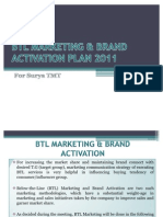 Btl Marketing & Brand Activation Plan 2011