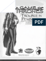 A Game of Thrones RPG - GO - Trouble in Pembrook OTRO