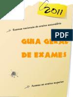 Guia Geral de Exames 2011