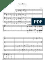 Kyrie Eleison (Coro e Solistas)