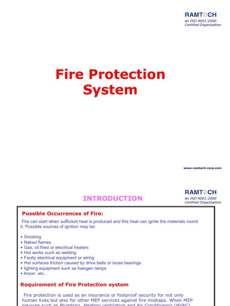 5- MEP - Fire Protection-rev | Fire Sprinkler System