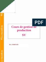 Cours de Gestion de Production