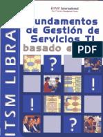 Fundamentos de Gestión de Servicios TI Basado en ITIL