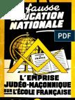 Bertrand Jean & Wacogne Claude - La fausse éducation nationale