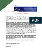 Arlington TEA Party- Suppression of Speech by Arlington Mayor 6-15-11