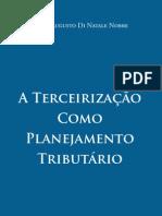 A Terceirização como Planejamento Tributário trecho da obra para divulgação