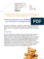 Guida Pratica BAMBINO PROTAGONISTA 1-4 ANNI