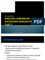 Analisis Hubungan Kategorik Dan Numerik Uji t1