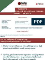 """""""Gli alunni con disabilità nella scuola italiana"""