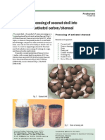 Processing of Coconut Shell Into Activated Carbon