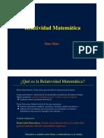 Relatividad Matemática