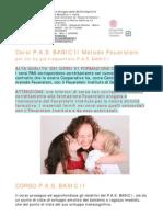 Presentazione Corsi PAS BASIC II Feuerstein
