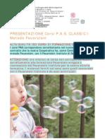 Presentazione Corsi PAS CLASSIC I Feuerstein