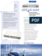 AFDX Switch DS Web