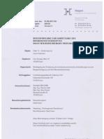 Bericht zum Brandschutz auf Zollverein vom 1. Juni 2011
