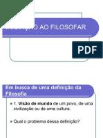 INICIAÇÃO AO FILOSOFAR