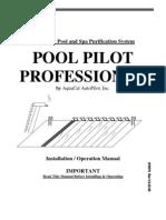 pool pilot Professional Manual