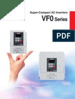 Panasonic VF0 Inverters