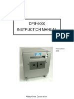 DPB-6000 Instruction Manual