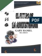 FUTURO DE LA ADMINISTRACIÓN