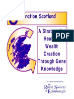 A Strategy for Health & Wealth Creation Through Gene Knowledge