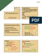 Funções Inorgânicas 2011
