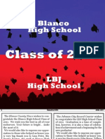 Blanco County 2011 Graduation Guide