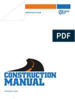 2009 NDOT Construction Manual