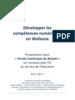 Propositions TF Ecole Numerique