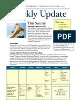 Weekly Update 2011.6.15