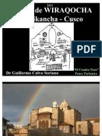 El  Templo de WIRAQOCHA - Qorikancha - Cusco - Crónica de Joan Santa Cruz Pachacutic 1615