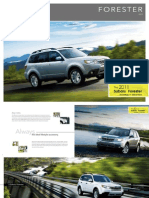 2011 Subaru Forester Alberta Brochure - Lethbridge, Calgary, Red Deer, Edmonton