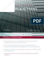 12. Institutional Investors and Activism  - Quick Guide Series