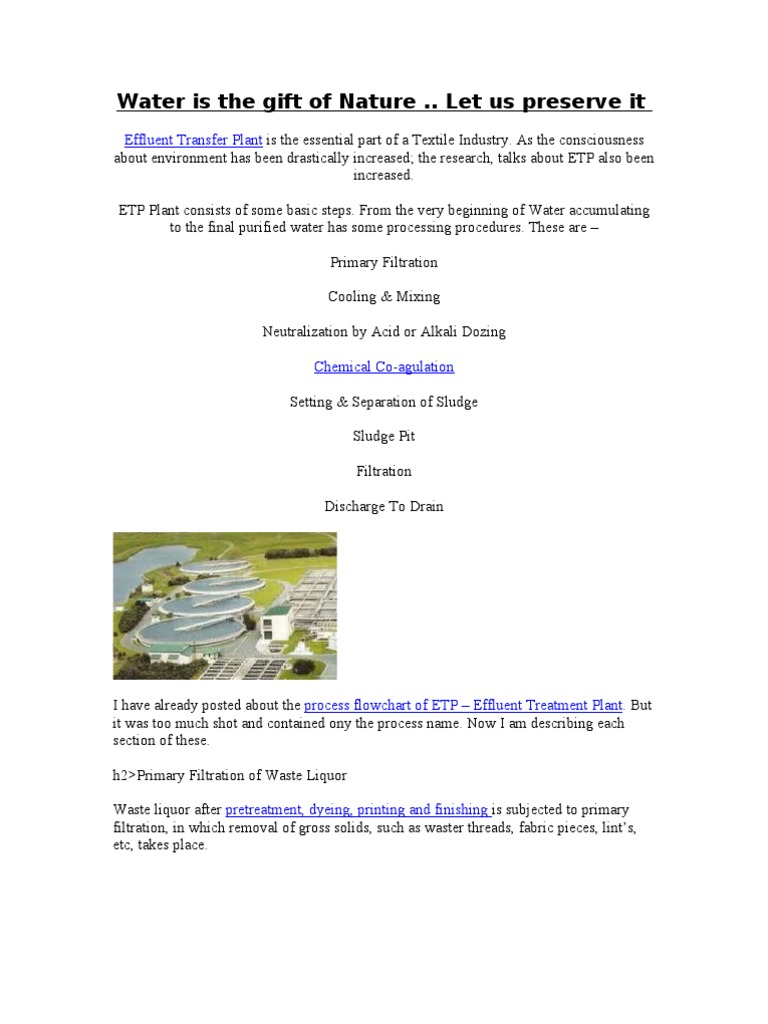 etp sewage treatment wastewater rh scribd com Building Operations and Maintenance Manual Water Operations Manual