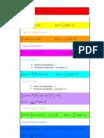 Fórmulas de integração numérica