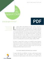 Obsession carcérale rapport Ciotti 2011