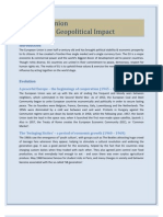 European Union - Evolution & Geopolitical Impact - Project Report