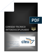 CONSEJO TECNICO INTERDICIPLINARIO
