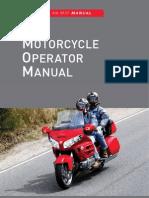 2011 Motorcycle Operators Manual