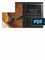 612 - Writing Thesis Statements