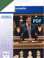 Bilan de Philippe GOSSELIN