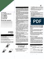 Manual FX 82TL