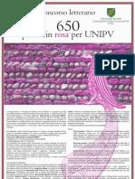 Concorso letterario - 650 parole in rosa per UNIPV