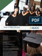 AUCC, 2011-Trends in Higher Education. Volume 1