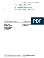 ALEXANDERS FARM BUILDINGS MANAGEMENT COMPANY LIMITED  | Company accounts from Level Business