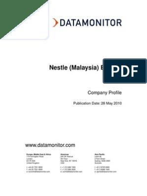 Nestle Malaysia) Berhad   Nestlé   Innovation