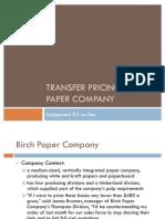 birch paper company diagram of the alternatives