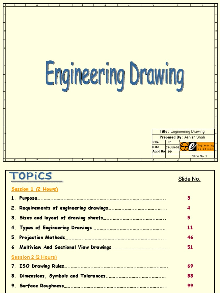 Luxury Symbols Used In Engineering Drawing Image Collection ...