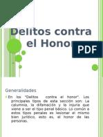 Delitos Contra El Honor